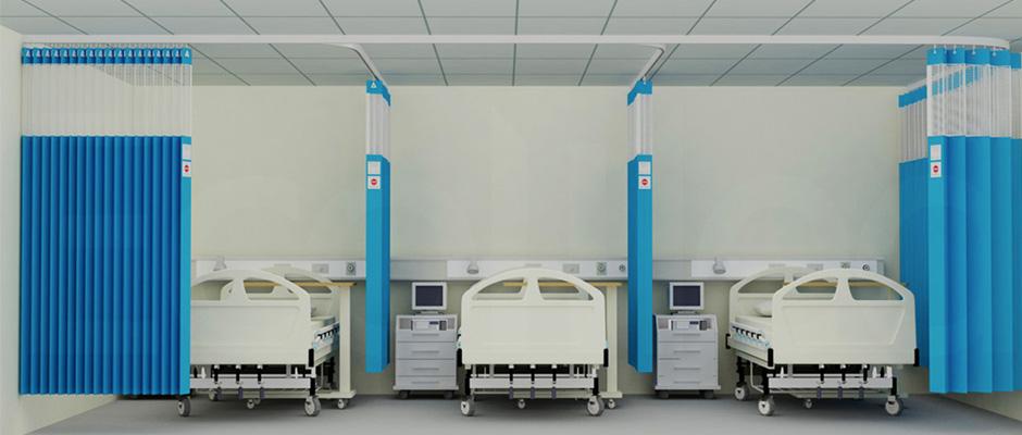 tirai rumah sakit anti bakteri Murah