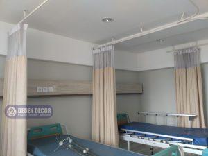 Gorden anti darah untuk sekat rumah sakit