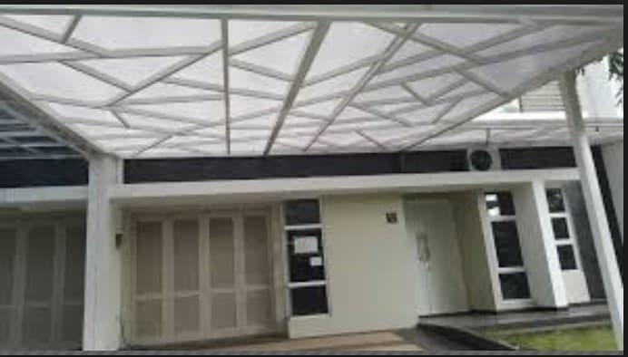 Jual Kanopi minimalis atap rumah murah