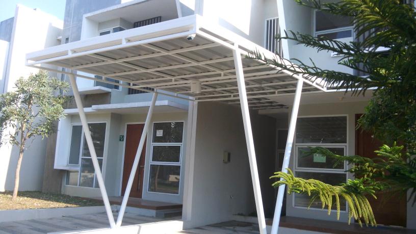 canopi atap rumah Jakarta